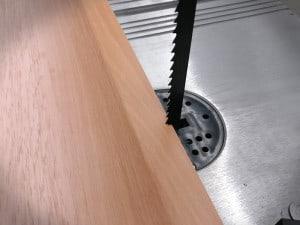 Bandsägeblätter für Holz