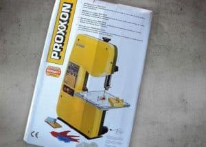 Proxxon Bandsäge - Verpackung